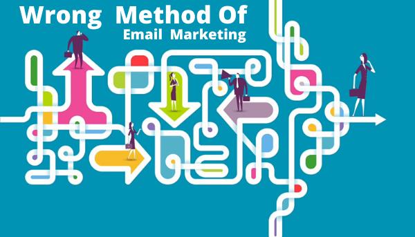 روش های اشتباه در ایمیل مارکتینگ